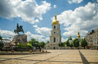 Богдан Хмельницкий, Софиевская площадь