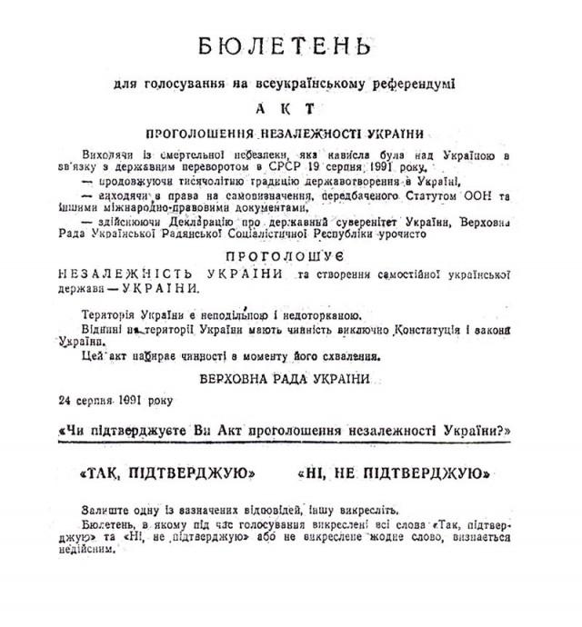 Раздельная в годы Независимости Украины