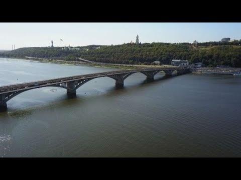 Мост Метро_Гидропарк_Киев