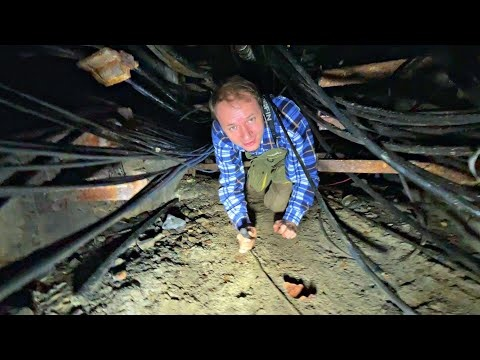 Проник в Подземные Коммуникации c @Супер Сус. Эксперименты с электричеством и страшный ПОЖАР