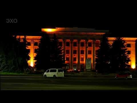 Города Украины - Ночной Житомир-3(Cities of Ukraine - Night Zhytomyr3) 4К Ultra HD - Видео