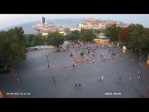 Дюк сверху | Приморский бульвар | Odessa ONLINE