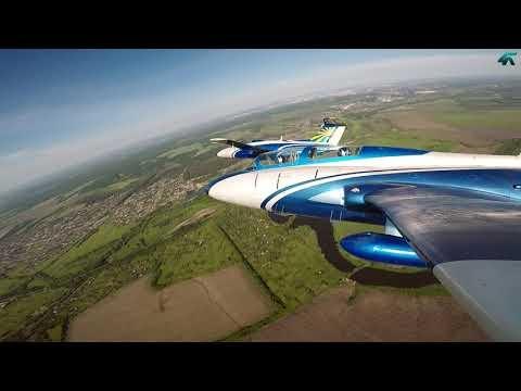 Экстрим и перегрузки, полёты на Л-29, аэродром Коротич