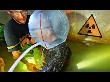 Сталкеры проникли в САМОДЕЛЬНОМ АКВАЛАНГЕ под Чернобыльский энергоблок Упал в радиоактивную воду