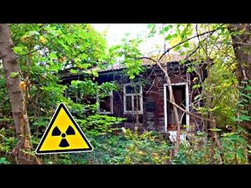 Нашли супер сохранившийся ДОМ в Чернобыле и там РАБОЧИЙ ТРАКТОР
