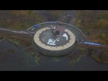 Реконструкция памятника основателям Киева