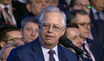 Петр Симоненко выступил на VI Всебелорусском народном собрании