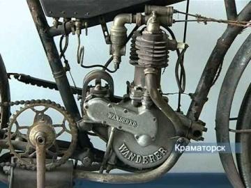 Старинные автомобили в Краматорске