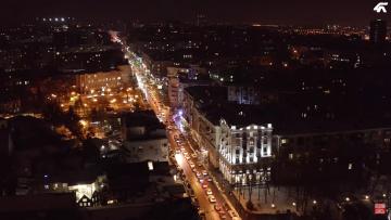 ул. Пушкинская. Вечерний Харьков