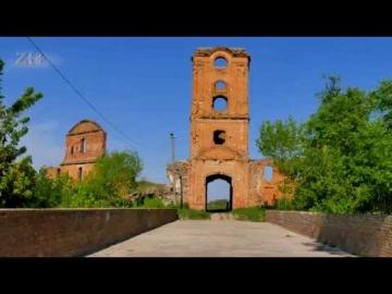 Замки Украины - Корецкий замок. 4K. (Castles of Ukraine - Castle in Korets)