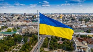 В Харькове установили самый высокий Государственный Флаг в Европе