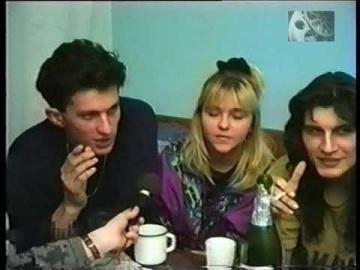 Интервью с Андреем Кузьменко (Кузьма Скрябин) и Ириной Пидлипной (Ирчик из Львова) 1993 год