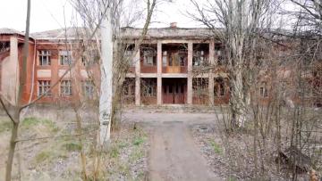 Руины бутылочного завода. Константиновка.