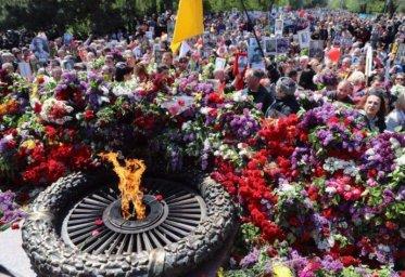 Сегодня украинцы отмечают День Победы