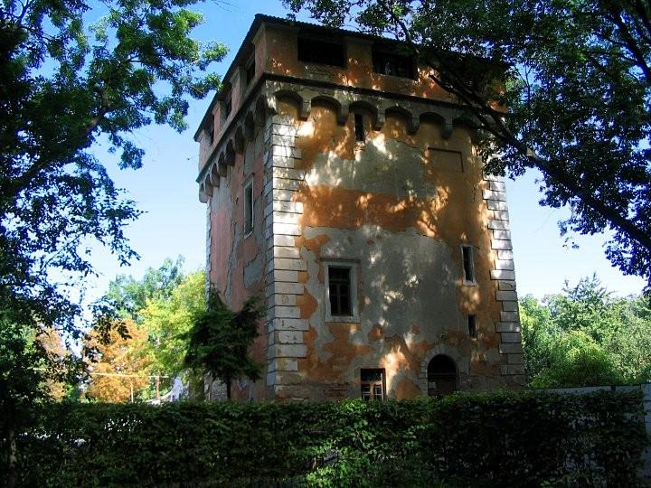 Водонапорная башня немировского дворца княгини Щербатовой