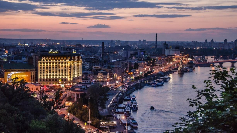 Набережная Киева