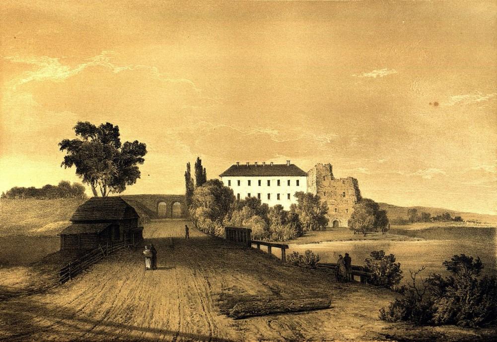 Наполеон Орда. Вид на Клеванский замок