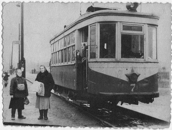 Какими были послевоенные трамваи