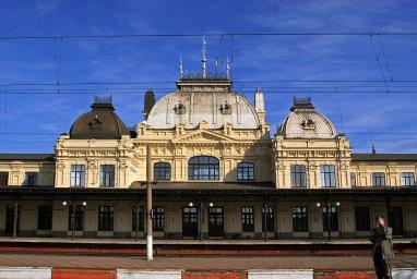 Вокзал-корабль Жмеринка