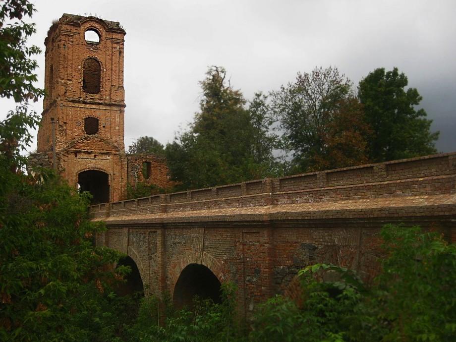 Мост через замковый ров