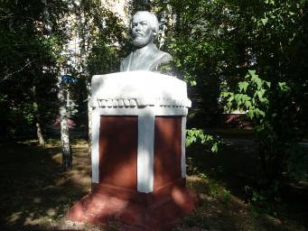 Памятник И.И. Мечникову в Краматорске
