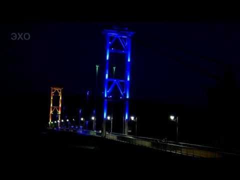 Города Украины - Житомир, весенняя ночь(Cities of Ukraine-Zhytomyr spring night)4К Ultra HD - Видео