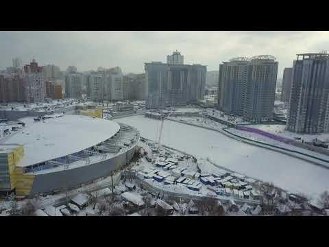 Перспективы развития Дарницкого района (стрим с воздуха)