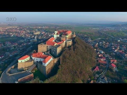 Замки Украины-Паланок. Мукачево(Castles of Ukraine-Palanok. Mukachevo)4К Ultra HD - Видео