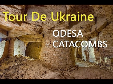 Catacombs under Odesa city