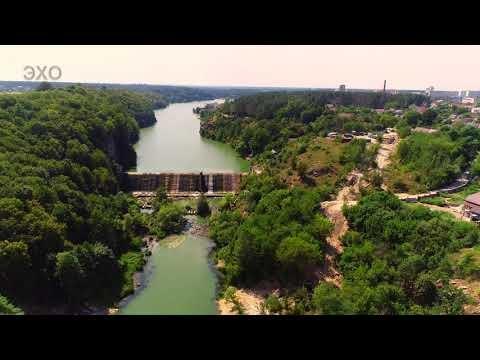 Житомир с высоты - Лето Тетерев-1 (Zhytomyr - Summer Teterev) 4К Ultra HD - Видео