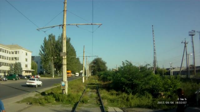 Константиновка, 4 маршрут трамвая