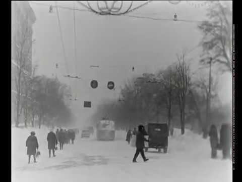Зима в Харькове 1970 года