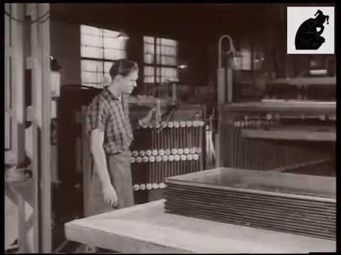 Констянтинівка 1959. Перші великі склопакети.