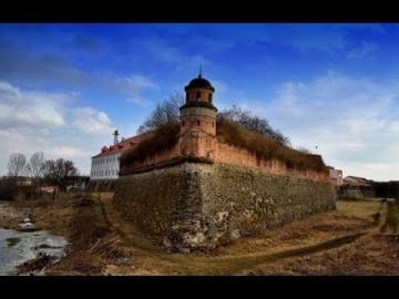 Замки Украины - Дубенский замок. 4К (Castles of Ukraine - the castle in Dubno)