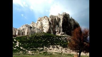 Меловые скалы. Белокузьминовка. Донецкая область