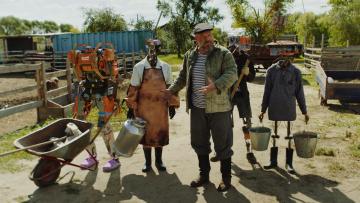 RUSSIAN CYBERPUNK FARM // РУССКАЯ КИБЕРДЕРЕВНЯ